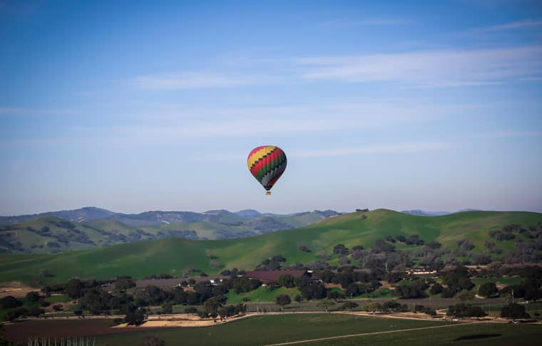 Temecula Hot Air Balloon Rides - Sky's The Limit Ballooning