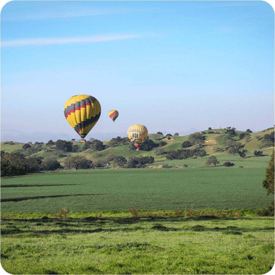 Hot Air Balloon Rides - Santa Barbara - Solvang - Del Mar ...